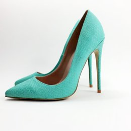 dc20cd119467 Top quality Women Pumps Pointed Toe Thin Heels Pumps Nice Patent Leather Shoes  Woman Plus US Size 34-44