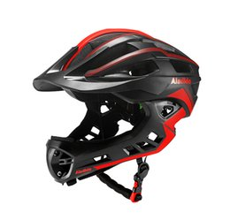 New Full Covered Helmet  Bike Children Full Face Helmet Cycling Motocross Downhill MTV DH Safety kids