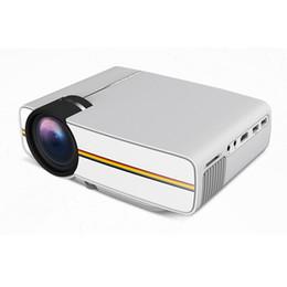 Usb sd portable mini online shopping - 2018 Newest YG400 Multimedia Portable Mini LED Projector Lumens home theater PC USB HDMI AV VGA SD for Home Cinema Projector