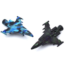 missile toys NZ - Newest Colorful Zinc Alloy Mini Smoking Pipe Fighter Missile Aircraft Innovative Design Portable Easy Clean High Quality Multiple Uses Toys