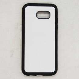 S5 Mini Tpu Case Australia - 2D Sublimation Silicon Case For Samsung S10 S9 Plus S8 S7 S6 edge Plus S5 S4 S3 Mini S2 TPU+PC Rubber soft Blank Heat transfer Phone Cover
