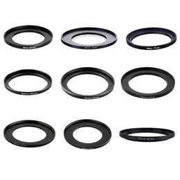 Filter adapter rings online shopping - 10pieces mm Metal Step Up Rings Lens Adapter Filter Set