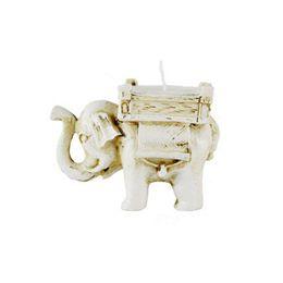 FEIS Großhandel Home Decoration Handmade kleine Teelicht Harz Elefant Kerzenhalter passenden Cup Kerze Lucky Hochzeit Gefälligkeiten