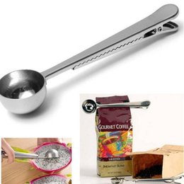 $enCountryForm.capitalKeyWord UK - 1000ml 0.6mm Thickness Stainless Steel Coffee Spoon, Milk Powder Spoon, Tea Spoon and Sealing Clip fast shipping