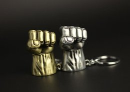 Electronic Novelty Gifts NZ - Marvel Avengers Incredible Hulk Large Fist Novelty Keyring Keychain Gift Bag