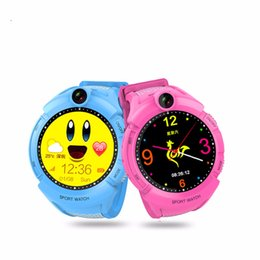 silicone glasses kids 2019 - 2018 New GPS tracking Watch for Kids Q610S baby watch LBS GPS Locator Tracker Anti-Lost monitor SOS Call Smartwatch Chil