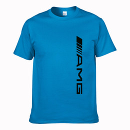 China Cool Short-sleeved tees Amg Logo T Shirt Printing cozy T-Shirt Man Spring Autumn Classical Fitted Tshirt Round Neck Cheap Sale supplier yellow t shirt cheap suppliers