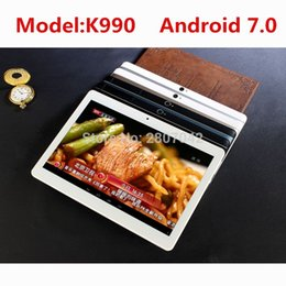 "4gb Sim Card Tablet NZ - 4G LTE K990 1920x1200 Android 7.0 Tablet PC Tab 10.1 Inch IPS Octa Core 4GB + 64GB Dual SIM Card Phone Call 10.1"" Phablet"