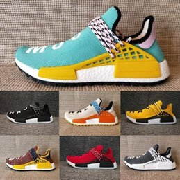 clearance cost With Shoelaces+Original Human Race Pharrell Williams x Fashion Running Shoes for Mens Women Sneakers PW Hu Trail Sports Trainers Size 36-46 where can you find fast delivery sale online latest collections sale online clearance low shipping xU38Bz