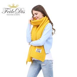 Acheter FEILEDIS Écharpes D hiver Pour Femmes Et Foulards Foulard Tricoté  En Cachemire Rouge Pour Femme Grande Grande Écharpe FD197 D18102406 De   15.21 Du ... 90a51607777