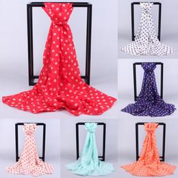 $enCountryForm.capitalKeyWord NZ - Best Quality Women Long Wrap Shawl Polka Dot Chiffon Scarf Scarves Stole beach towel ponchos capes frauen schal seide
