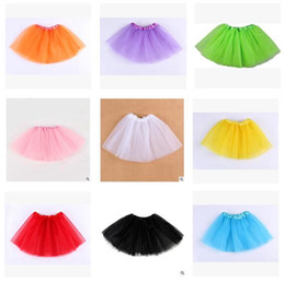 $enCountryForm.capitalKeyWord NZ - Clothes for Girls Baby Clothing Skirts Tulle Tiered Girls Tutu Skirt Pleated Babies Dress Clothes Best Gifts Kids Clothing DHL Free shipping