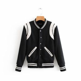 584634a4bd Giacca Bomber Nera Per Le Donne Online | Giacca Bomber Nera Per Le ...
