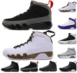 e0bc9d9577ad LA 9 men basketball shoes 9s Lakers PE Bred Cool Grey Black white The Spirit  Mop Melo mens trainers designer shoes sports sneakers