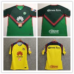 ef8f29dfa8b70 2018-19 Club América Tricolor casa lejos Jersey camisetas de fútbol calidad  tailandesa jerseys de fútbol venta caliente camisa de fútbol artículo ...