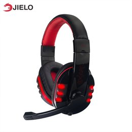 best game computers 2020 - Gaming headset Headphones Gaming pc Deep Bass Game Earphone Headset Best casque Computer Stereo Gamer with Microphone Mi