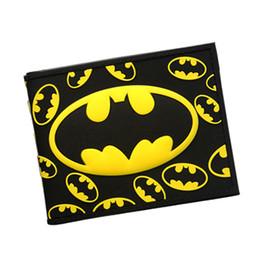 China Batman Series Cartoon Wallet The Avengers Super Hero Batman Wallet For Teen Boy Girls Leather Purse Card Holder DC Comics Wallet suppliers