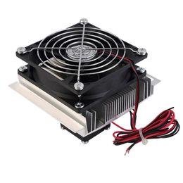 Опт Бесплатная доставка 60 Вт термоэлектрический Пельтье полупроводниковых система охлаждения комплект кулер вентилятор охлаждения готового комплекта компьютерных комплектующих