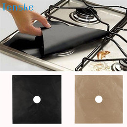 gas for kitchen 2019 - 1PCS Kitchen Mat Pads 1PCS Reusable Gas Range Stove Top Burner Protector Liner Cover For Cleaning 2018 Dropshipping disc