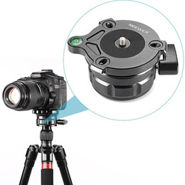 level camera NZ - wholesale Tripod Leveling Base with Offset Bubble Level for Canon,Nikon,and Other DSLR Cameras