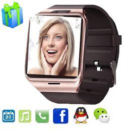 $enCountryForm.capitalKeyWord Australia - Smart Watch Gv18 Aplus Digital U8 Wrist Clock SIM Card Bluetooth Waterproof Smartwatch For Android IOS Apple phone PK Dz09 A1