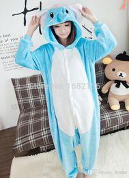 ffe2258a3a0c Children S Onesie Australia - Wholesale- Lovely Elephant Pajamas Pyjamas  Adult Children Onesie Animal Sleepsuit