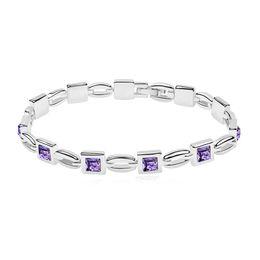 Discount swarovski elements crystal bracelets women - Ladies Bangles and Bracelets Made with Swarovski Elements Crystal Square Shaped Wedding Party Bijoux Wholesale for Women