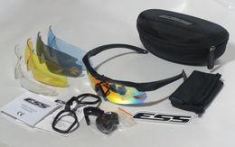 b2be4e8da2 Nuevas gafas balísticas deportivas ESS CROSSBOW, gafas de sol del ejército  con estuche 5 lentes Deportes al aire libre Eyeshield