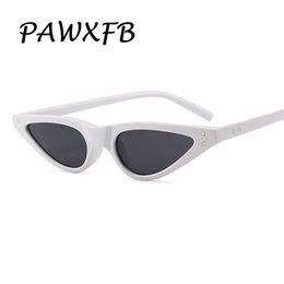 87dfbe9143 Pop Age 2018 New Cat Eye Rivet Shades Sunglasses Women Vintage Retro Small Frames  Sunglasses Ladies Eyewear Lunettes de soleil