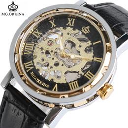 $enCountryForm.capitalKeyWord Australia - ORKINA Top Brand Mechanical Watch Luxury Skeleton Hand-Winding Watch Analog Modern Men Women Bangle Wrist