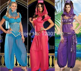 sexy indian woman costumes 2019 - New Sexy Adult Indian Belly Dancing Dancer Cloth Dress Southern Belle Halloween Cosplay Costume For Woman Fantasias 3 Co