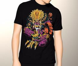 $enCountryForm.capitalKeyWord Australia - Cool Funny T Shirt High Quality Tees The Predator Shirt, Graphic T-Shirt, Sizes S-5XL Hip-Hop Casual Clothing