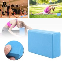 $enCountryForm.capitalKeyWord NZ - High-Density EVA Yoga Block Brick Health Training Aid Home Exercise Fitness Gym