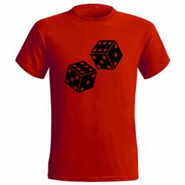 $enCountryForm.capitalKeyWord UK - LUCKY DICE DOUBLE SIX DESIGN MENS T SHIRT GAME GAMBLE 6 CASINO BETTING tshirt hot new fashion top free shipping 2018 shirts