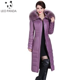 $enCountryForm.capitalKeyWord Australia - 2018 Winter Duck Down Jacket Women Long Slim Parka Coat Female Womens Down Jackets With Real Fur Collar Plus Size 5XL LXT
