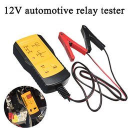 auto car batteries NZ - Automotive Relay Tester Detector 12V For Universal Cars Auto Battery Checker