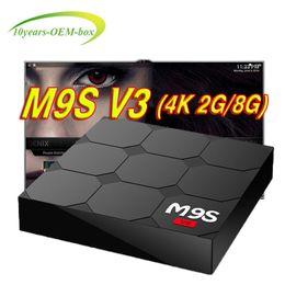 Media Player Australia - M9S V3 4K Android TV Box 4K WIFI 2.4G HDMI Media Player RK3229 Quad-Core 2GB Bluetooth 8GB Smart TV Boxes