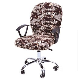 $enCountryForm.capitalKeyWord NZ - Elastic Computer Chair Cover Spandex Office Chair Cover Seat Covers Stretch Rotating Chair Covering Computer Desk Seat Slipcover yz0001