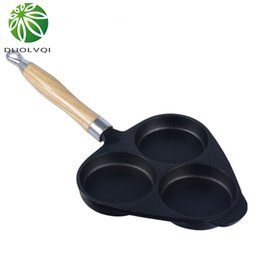 Steel Induction Canada - Non -Stick Frying Pan Egg Cake Maker Frying Pan No Oil -Smoke Breakfast Pan Use For Gas &Induction Cooker Kitchen Helper