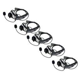 Auriculares de PTT del dedo del micrófono del auricular 5X 2 Pin para el top de Kenwood BAOFENG UV-5R 777 888s en venta