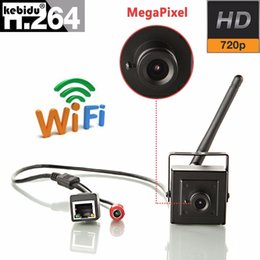 China kebidu high quality Mini Camera wireless 720P wifi for CCTV H.264 Smallest 1.0MP P2P for security cam cheap cctv h 264 camera wifi suppliers