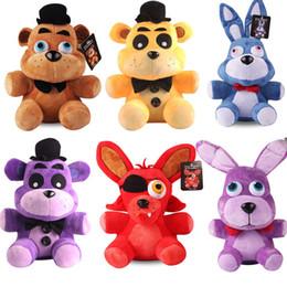 $enCountryForm.capitalKeyWord Canada - 25cm Plush Toy Five Nights At Freddy FNAF Dolls & Stuffed Toys Golden Freddy fazbear Mangle foxy bear Bonnie Chica Plush Doll