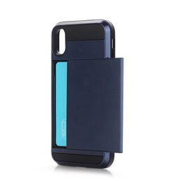Phone oPtions online shopping - 2018 Hot sale For iphone plus designer phone cases muliti color options Sliding card slot mobile case shockproof hybrid tpu pc phone case