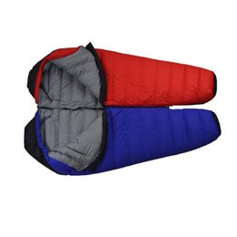 Outdoor Light Eider Down Sleeping Bag Thickened Warm Winter Winter Sleeping Bag At6105 Sleeping Bags