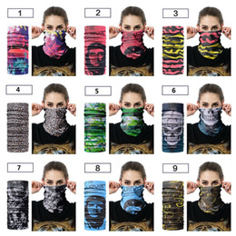 Bicycle goods online shopping - New headscarf Outdoor riding collar scarf Sport bicycle mask Sweat Multifunction seamless Scarf Good elasticity T4H0390
