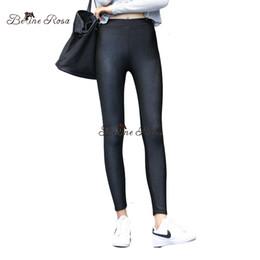 7a540d6e69393e Plus Size Warm Leggings Canada - BelineRosa Plus Size Women Leggings Winter  Style Flocking Warm Thicken