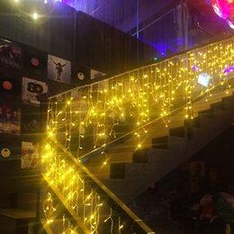 $enCountryForm.capitalKeyWord NZ - New 10m*0.5m 320 LED Light Flashing Lane LED String lamps curtain icicle Christmas festival lights 110v-220v EU US AU UK plug