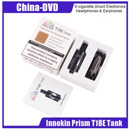 innokin t18 tank UK - 100% Original Innokin Prism T18E TPD Tank For Innokin T18E Kit 2ml Tank Capacity VS T18 T22 Tank Electronic Cigarettes atomizer