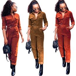 $enCountryForm.capitalKeyWord Australia - women designer jumpsuit long sleeve jumpsuit sexy romper elegant fashion skinny jumpsuit pullover button comfortable clubwear hot s9