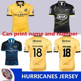 2018 hurricanes super rugby training jersey New Zealand Highlanders rugby jerseys  blue chiefs football shirts size S-M-L-XL-3XL (can print) 03ac9bccc